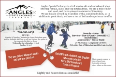 ANGLES Sports ad for Waggle magazine