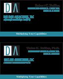 Dullien Associates business card