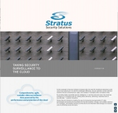 Stratus Security Solutions website page
