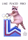 Olympic Poster - Created for the 1980 Winter Olympics in Lake Placid, NY