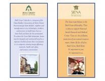 Siena community Built Green banners