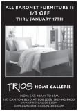 Trios Home Gallery ad - magazine